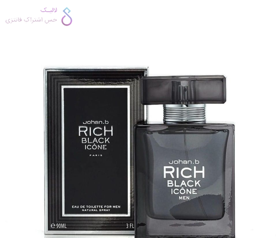 ادکلن جوهان بی جی پارلیس | Johan.b Rich Black Icone Men