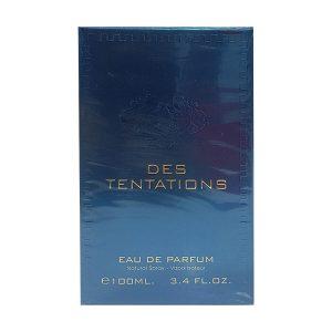 جعبه ادکلن دس تنتیشن فراگرنس ورد | Fragrance World Des Tentations box