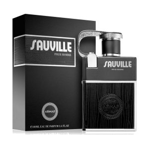 جعبه ادکلن آرماف ساویل پور هوم مردانه | Armaf Sauville Pour Homme