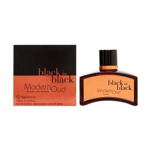 ادکلن black is black modern oud