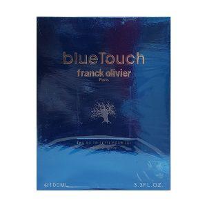 جعبه ادکلن فرانک الیور بلو تاچ | Franck Olivier Blue Touch BOX