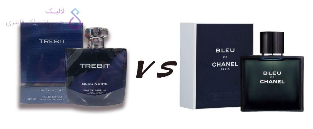 Bleu De Chanel VS Trebit Blue Noir Fragrance World