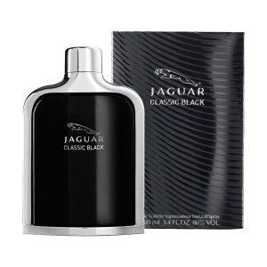جعبه ادکلن جگوار مشکی کلاسیک بلک | Jaguar Classic Black box