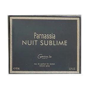 جعبه ادکلن پارناسیا مشکی زنانه | Parnassia Nuit Sublime box