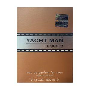جعبه ادکلن یاچ من لجند | Yacht man Legend box
