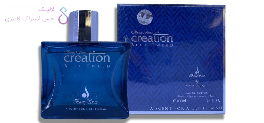Baug Sons Creation Blue Tweed